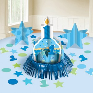 1st Birthday Boy Table Decoration Kit