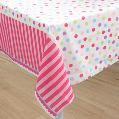 Sweet Little Cupcake Girl Table Cover
