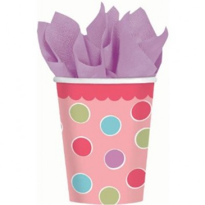 Sweet Little Cupcake Girl Cups