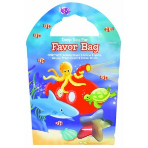 Deep Sea Fun Favor Bag