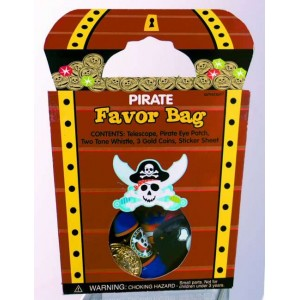 Pirate Favor Bags
