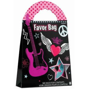 Rocker Girl Favor Bag