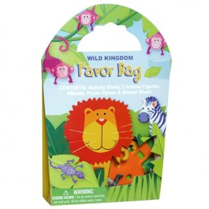 Wild Kingdom Favor Bag