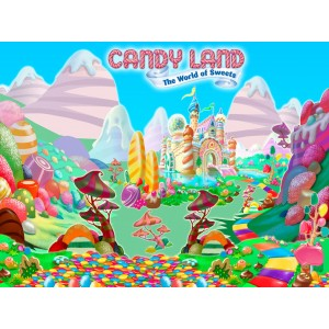 Candy Land Backdrop
