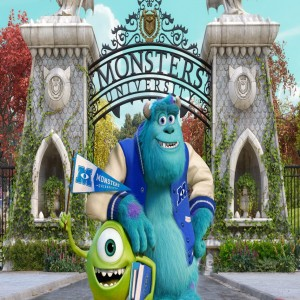 Monsters University Backdrop