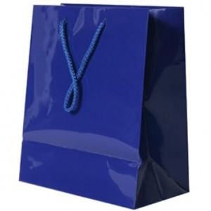 Royal Blue Gift Bag