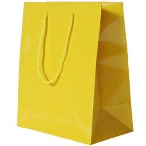 Yellow Gift Bag