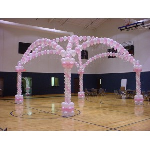Balloon Dance Floor Arch