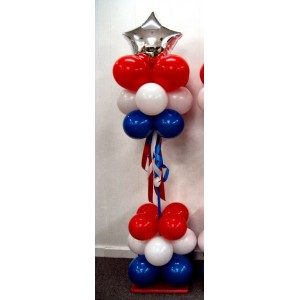 Balloon Column Top and Bottom Cluster