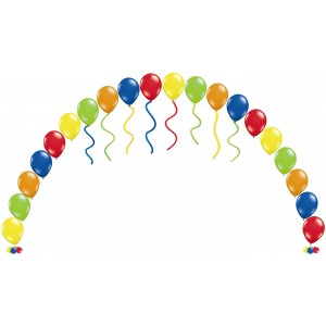 Balloon String Arch