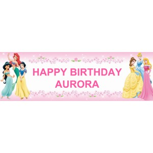 Disney Princess Wall Banner