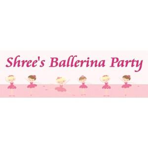 Ballerina Wall Banner