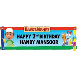 Handy Manny Wall Banner
