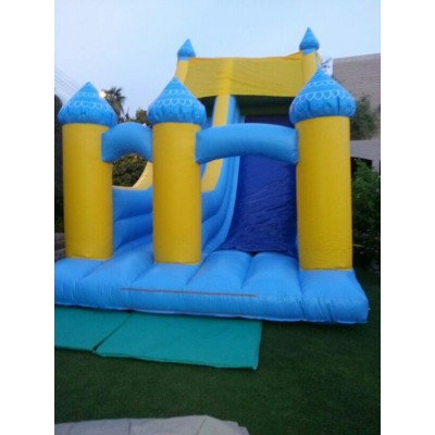 Super Jumbo Slide Bounce Castle