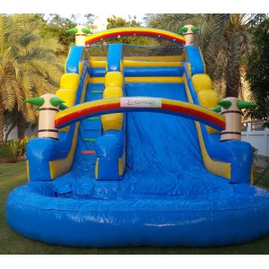 Super Jumbo Water Slide Bounce