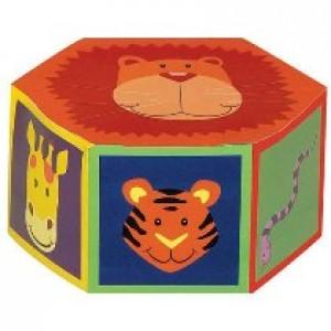Jungle Animal Favor Boxes