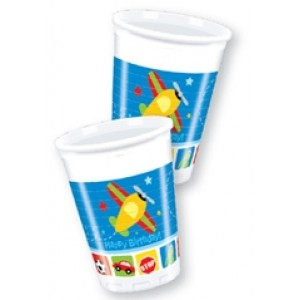 Airplane Cups