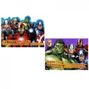 Avengers Invites