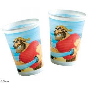 Disney Pirate Cups