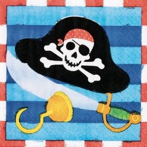 Pirate Beverage Napkins
