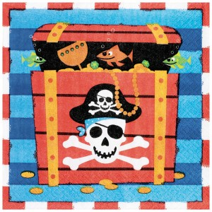 Pirate Lunch Napkins