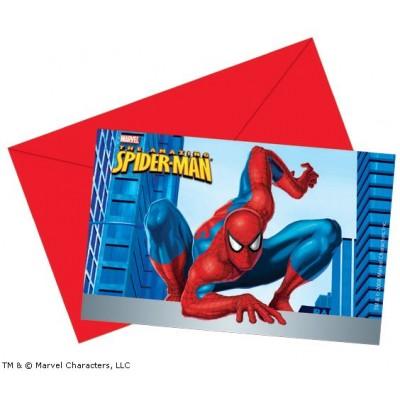 Spiderman Invites