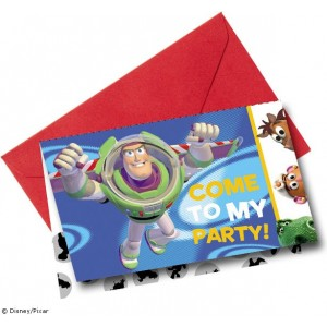 Toy Story Invites