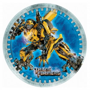 Transformers Dessert Plates
