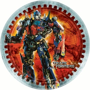 Transformers Dinner Plates