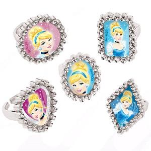Cinderella Jewel Rings
