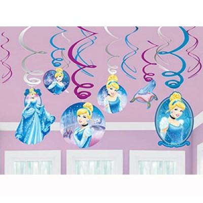 Cinderella Swirl Decoration