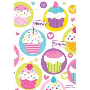 Cupcake Loot Bags