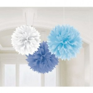 Baby Shower Blue Fluffy