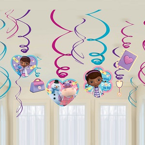 Doc McStuffins Foil Swirls