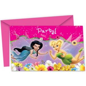 Fairy Springtime Invite