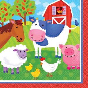 Barnyard Lunch Napkins