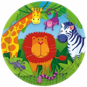 Jungle Dessert Plates