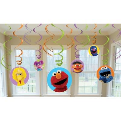 Sesame Street Swirls