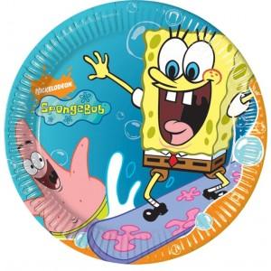 Sponge Bob Dessert Plates