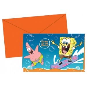 Sponge Bob Invites