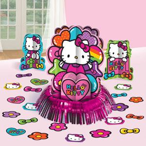 Hello Kitty Table Decoratoin Kit