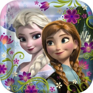 Disney Frozen Dinner Plates