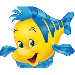 Flounder Standee