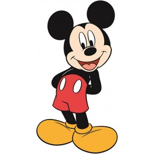 Mickey Standee