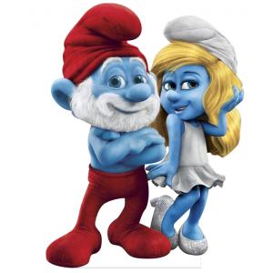 Smurfs Standee