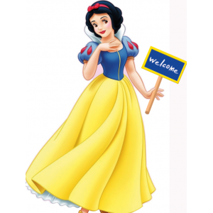 Snow White Standee