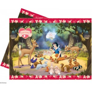 Snow White Table Cover