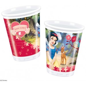 Snow White Cups