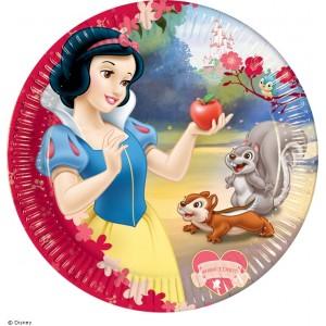 Snow White Desser Plates