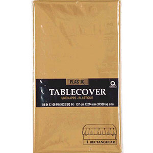 Gold Table Cover Rectangular